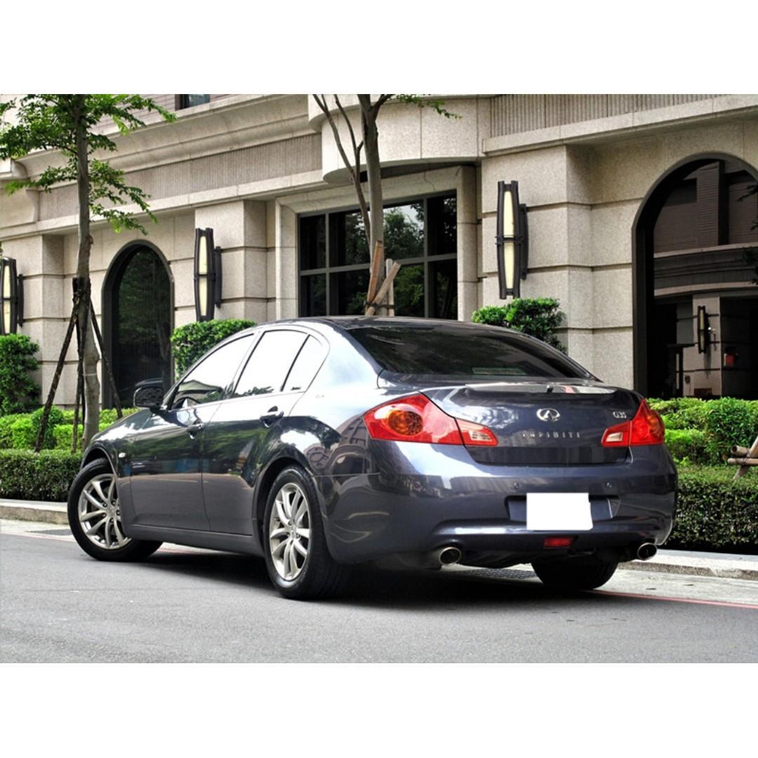 原廠保養 正一手車 原版件 SAVE認證 INFINITI G35 深灰色 3.5cc 電動天窗 免KEY 888