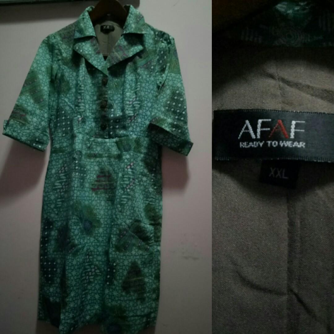 AFAF dress batik#dibuangsayang