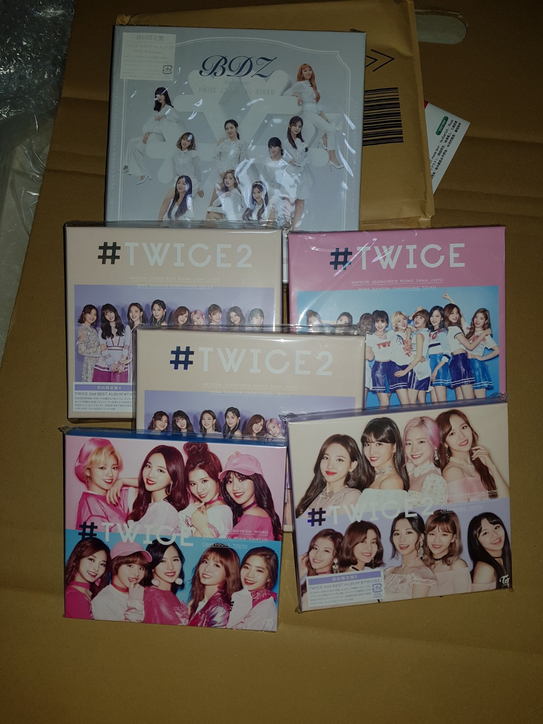 Arrival] Twice Japanese albums, Entertainment, K-Wave on