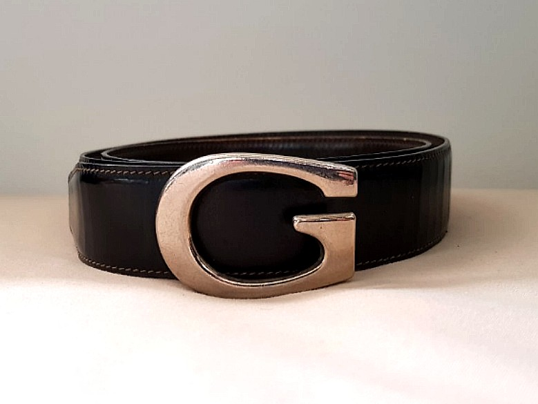 ee8e4efda Authentic Gucci Black Belt (Used), Luxury, Accessories, Belts on Carousell