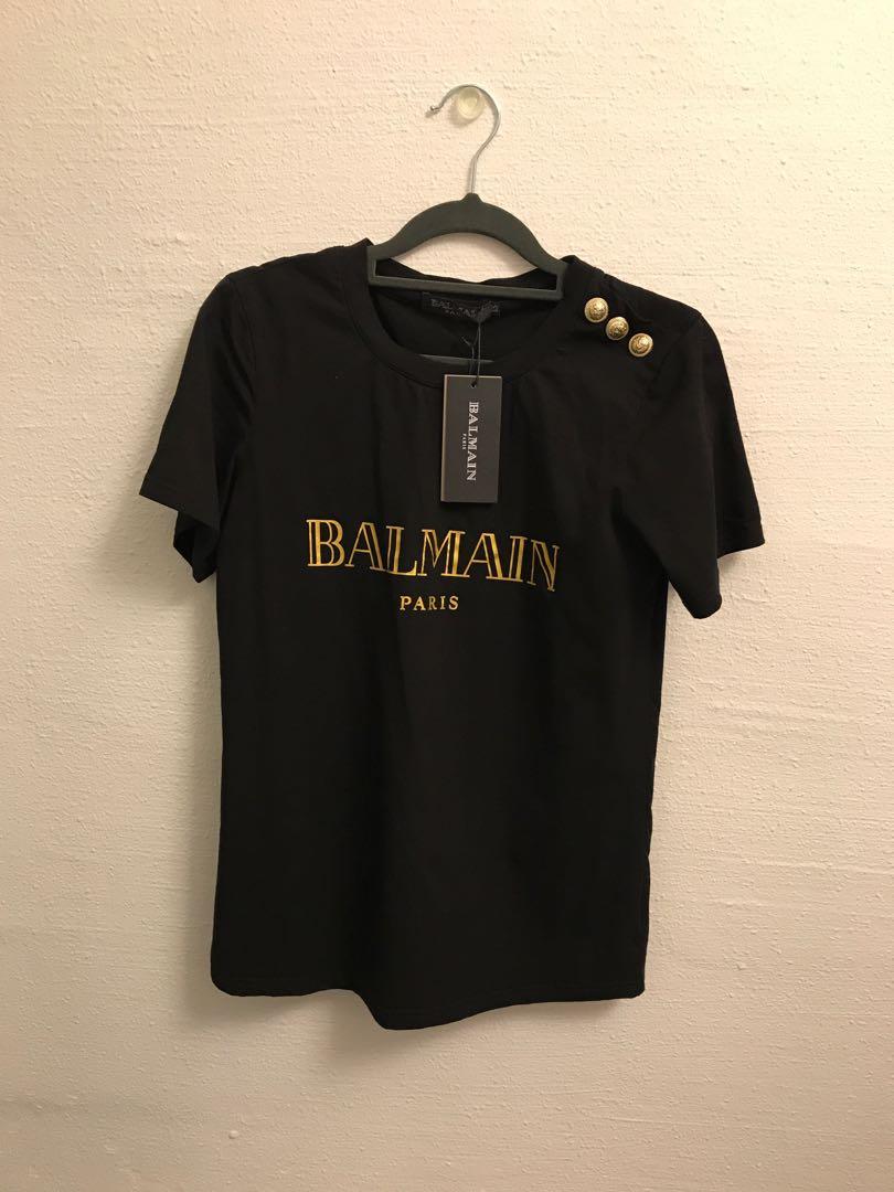 12120656 BALMAIN Ladies Top XS BNWT, Women's Fashion, Clothes, Tops on Carousell