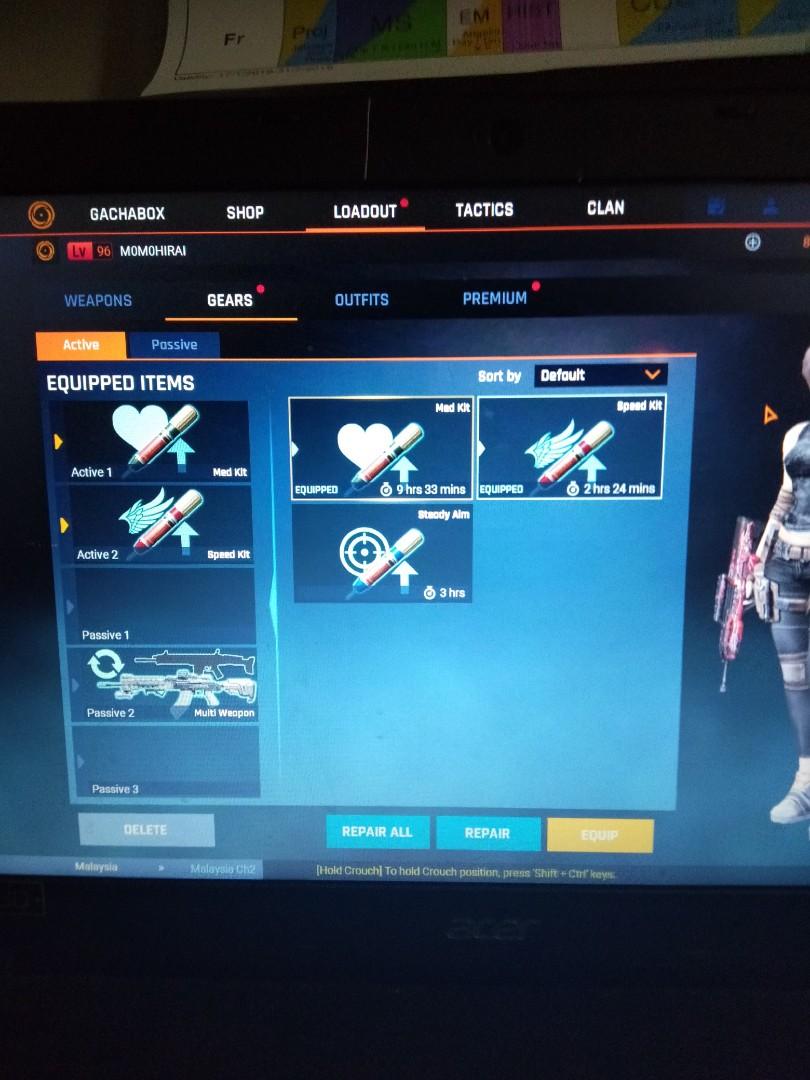 Blackshot account perm weapons