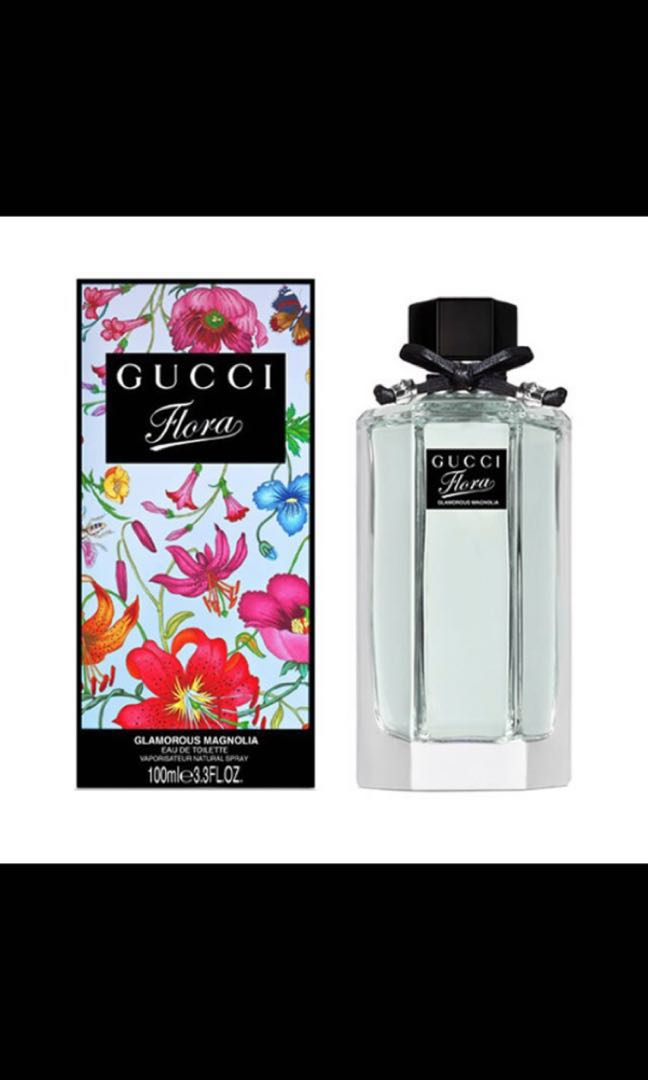 9a8c3cde058 BN 100% AUTHENTIC) 100ml Gucci Flora Glamorous Magnolia EDT for ...