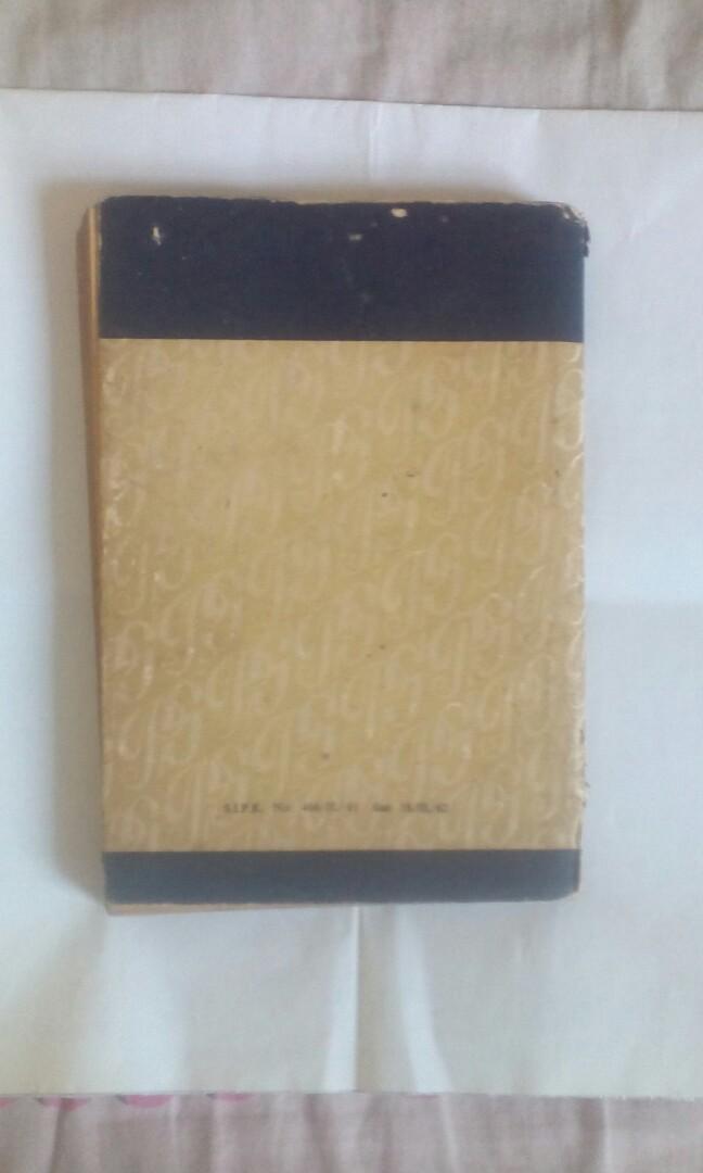 Buku Jadul : Pengantar ANTHROPOLOGI Kebudajaan indonesia , Karya : Dr. H. TH. Fischer