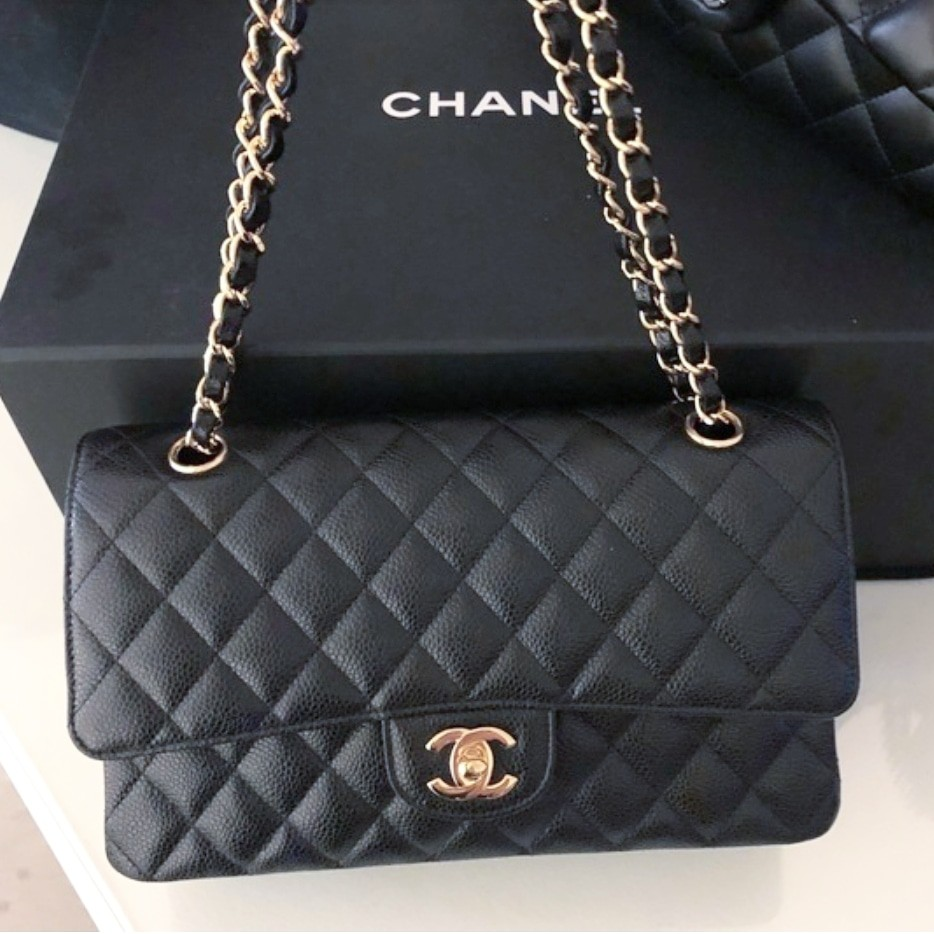 3708ce9a1fdfaa Chanel Classic Double Flap Medium, Luxury, Bags & Wallets, Handbags ...