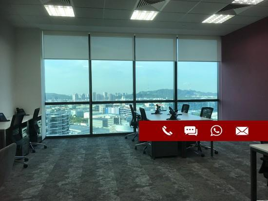 ♥️CHARMINGLY FITTED!♥️4 PAX UNIT SERVICED OFFICE IN VISION EXCHANGE NEAR JURONG EAST MRT. MUST VIEW!