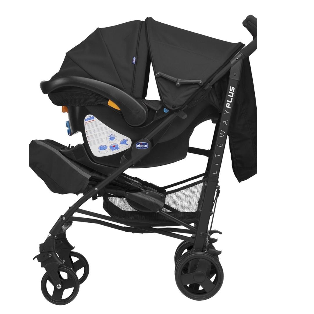 Chicco Liteway Plus 2in1 Stroller Babies Kids Strollers Bags Carriers On Carousell