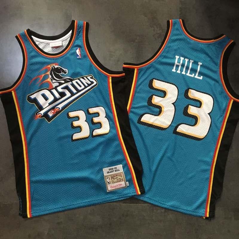 b673d0f56837 Detroit Piston Grant Hill Swingman Jersey