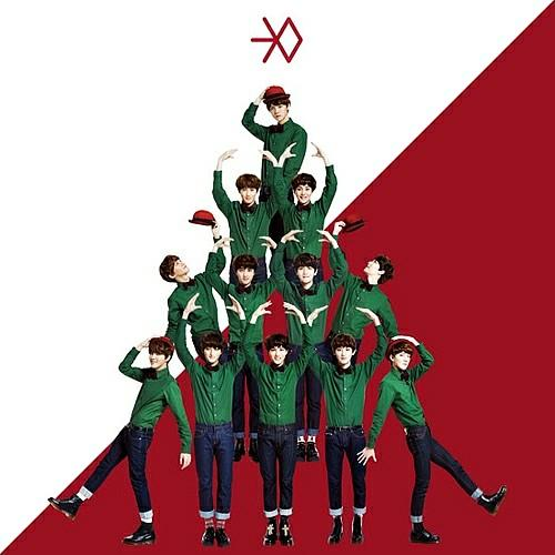 Exo Christmas Album Cover.Exo Miracles In December Sealed Album Entertainment K