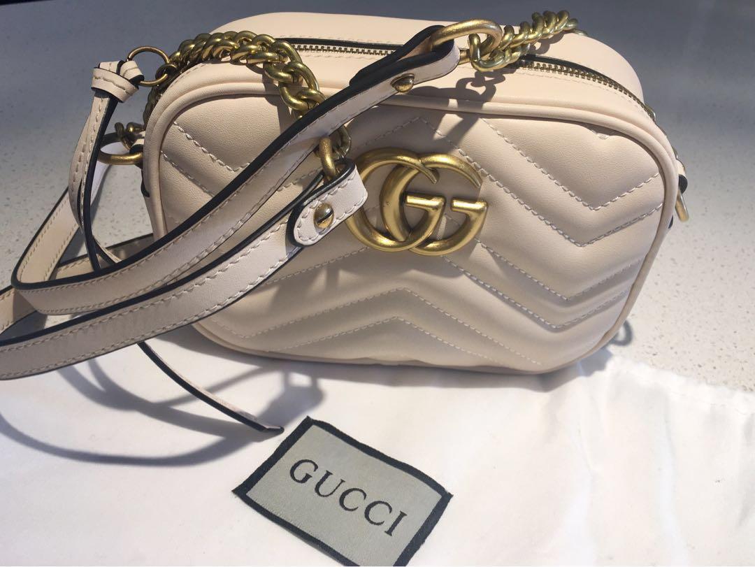 Gucci Marmont matelassé mini bag