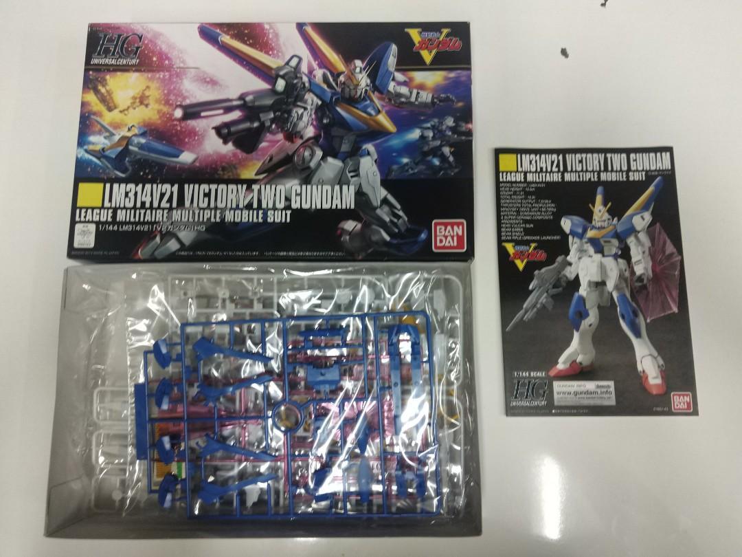 V2 Victory Two Gundam HG 1/144 高達模型