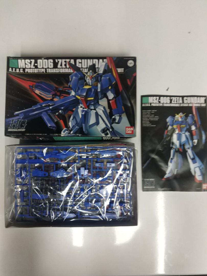 Zeta Gundam HG 1/144 高達模型
