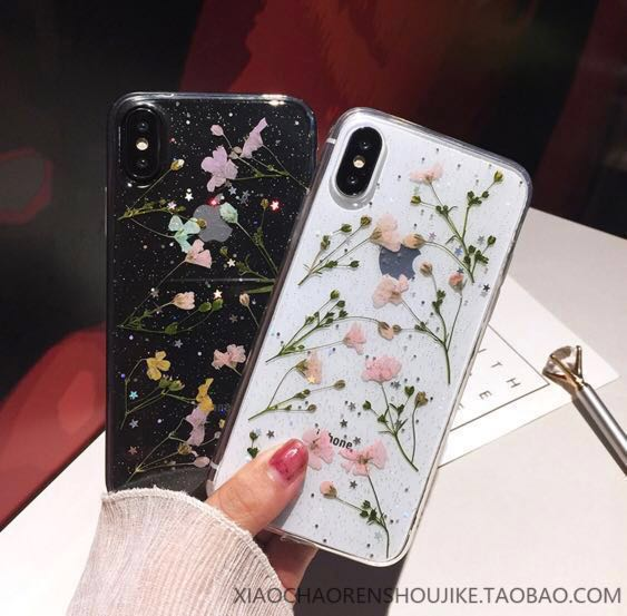 big sale 92cef 1042f Iphone case ( flower pressed) (po)