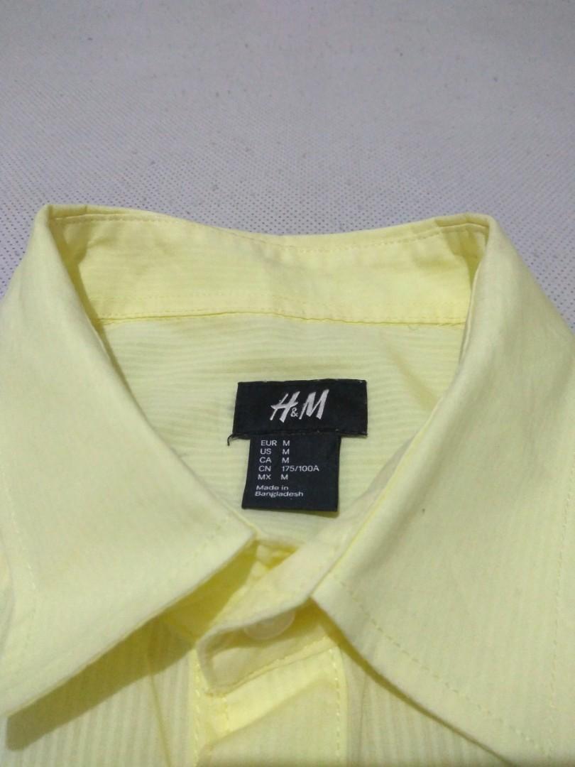 Kemeja H&M not zara uniqlo lacoste