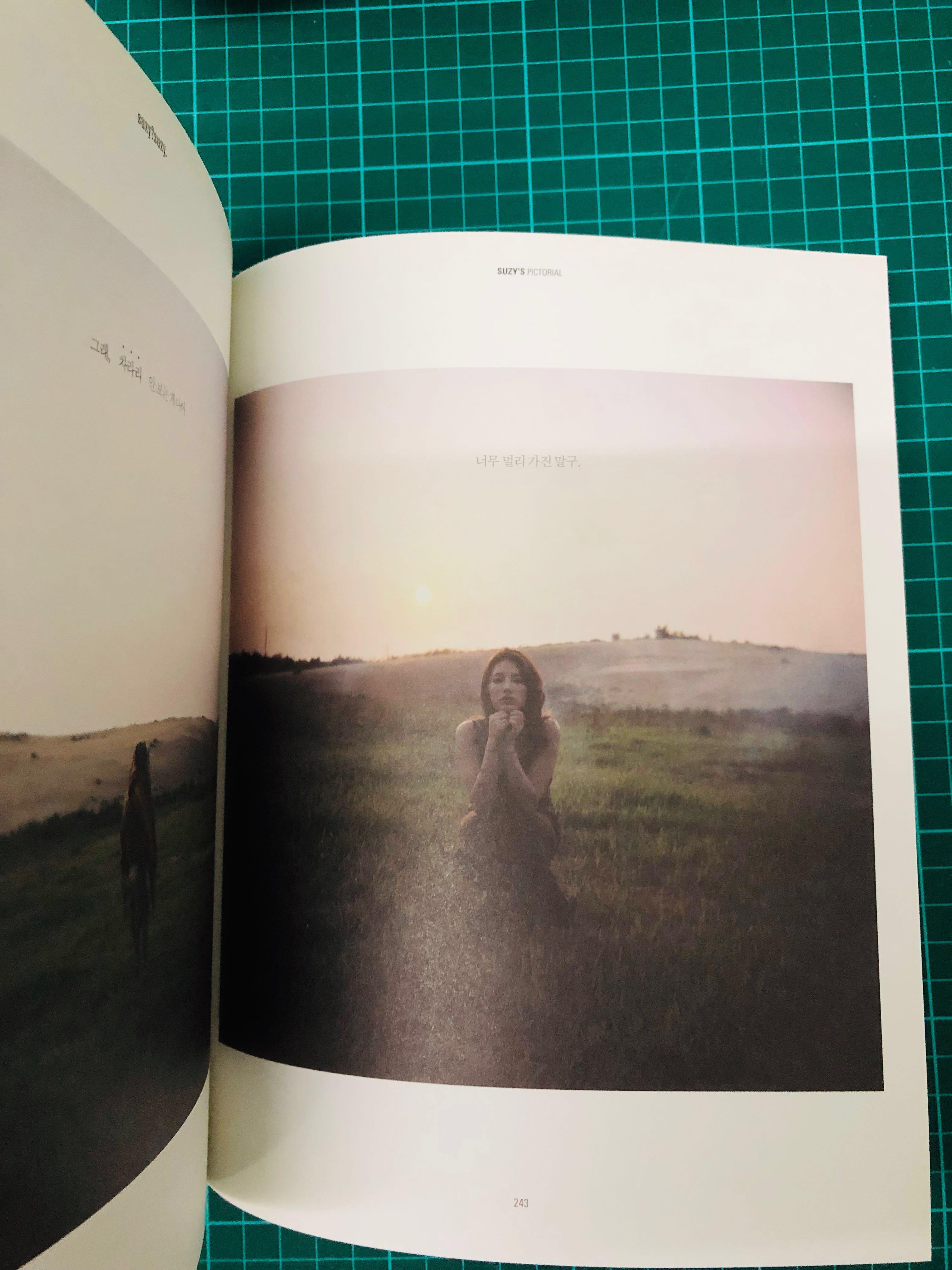 MISS A SUZY- [SUZY?SUZY.] Pictorial 1st 280p Photo Book