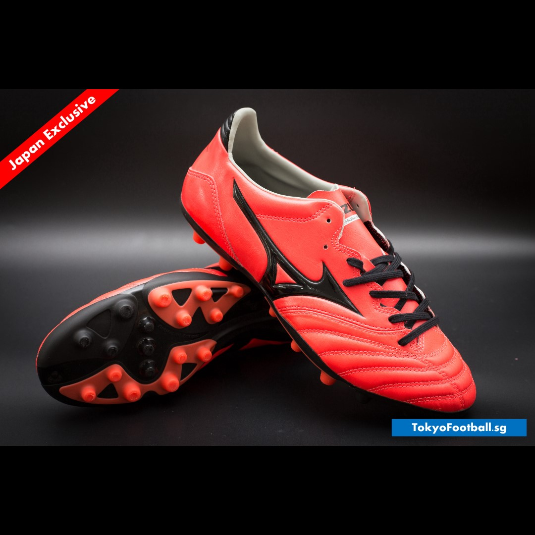 finest selection d6252 7b2d8 Mizuno Morelia Neo 2 AG K leather astro grass soccer football boots shoes  futsal