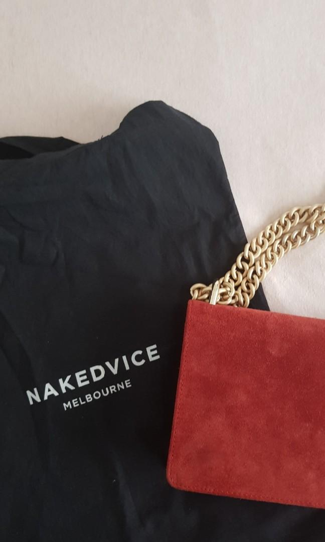 Nakedvice Chain Bag - used once! Limited edition colour.