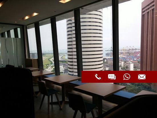 ❤NICELY FITTED!❤ SERVICED OFFICE SPACIOUS WORKING SPACE WITH SEA VIEW! GUOCO TOWER. MUST VIEW!