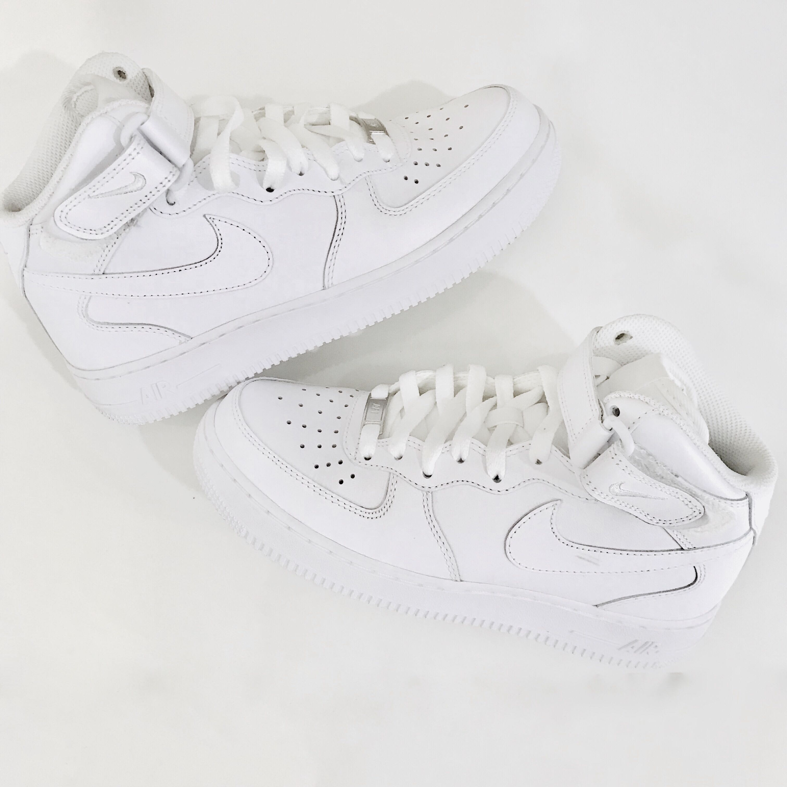 low priced 64ab3 97246 {Nike} Air Force 1 Mid 07 white Womens 7.5
