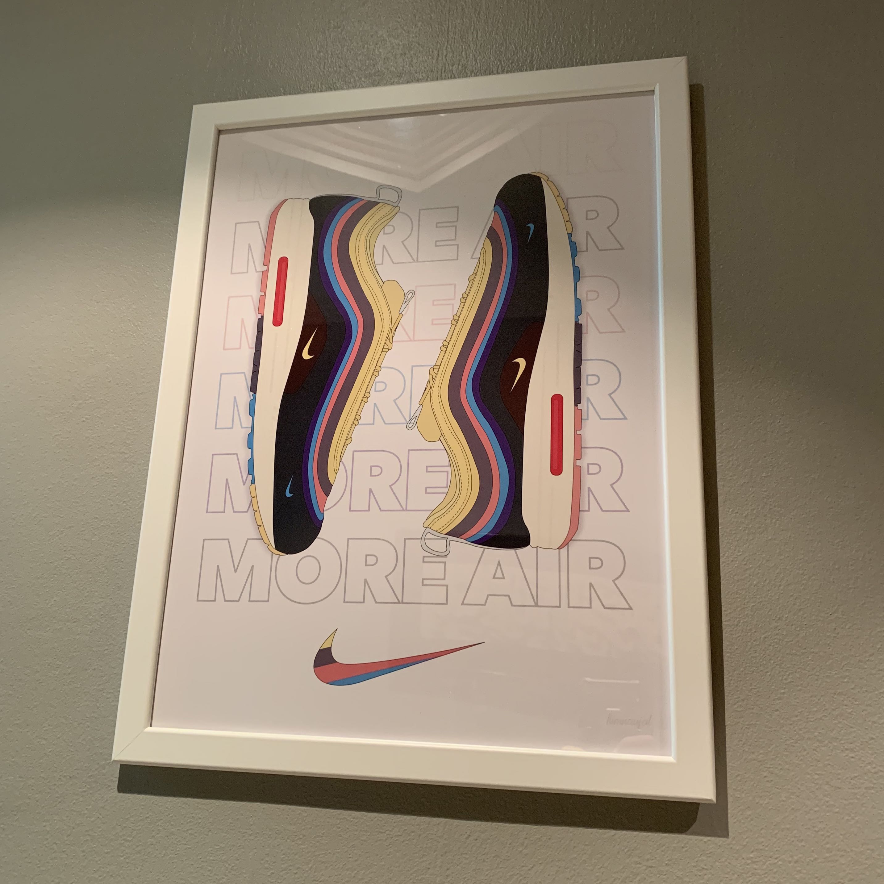d6484f0a4acb1 Nike Air Max 97 1 Sean Wotherspoon Poster