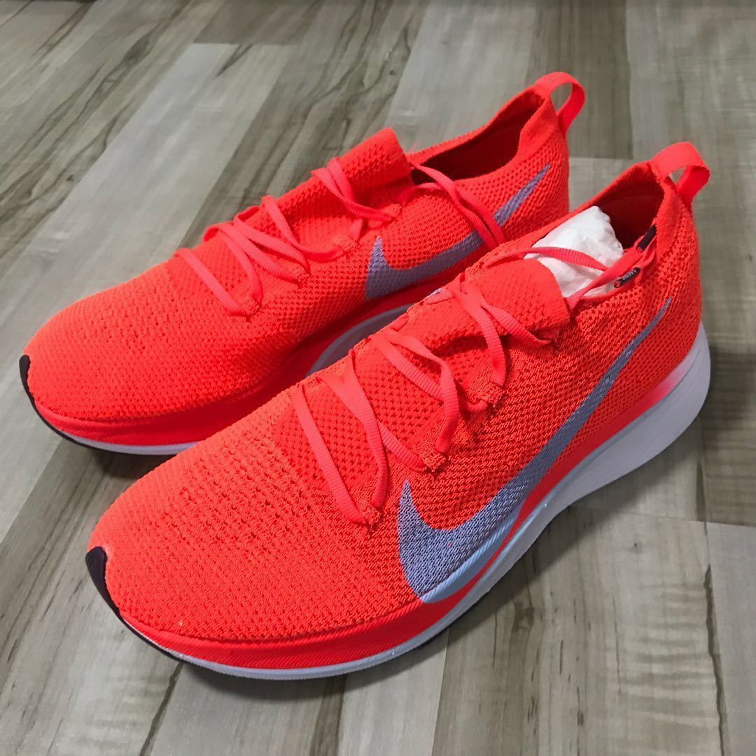 42caebe8d9ae Nike Zoom Vaporfly 4% Flyknit Mens 9 US