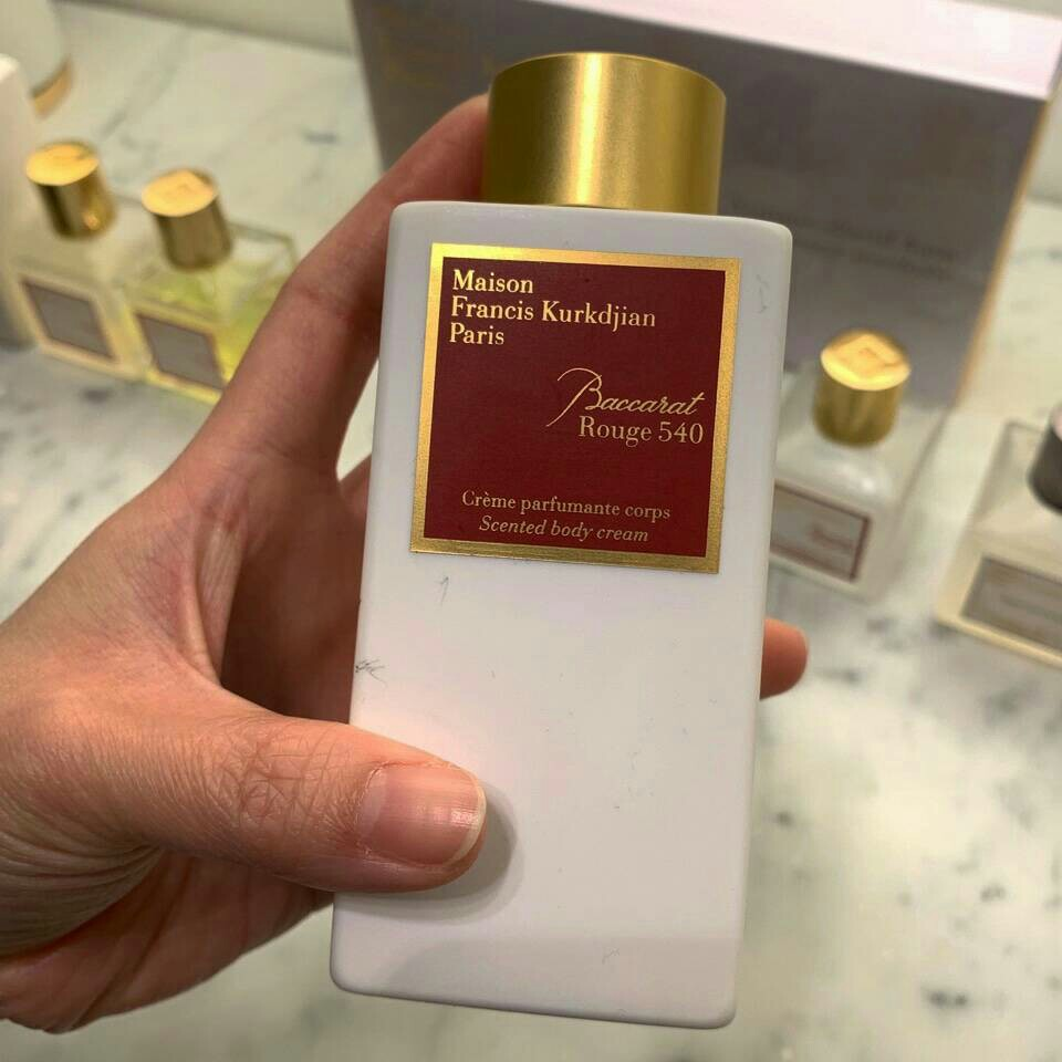 Po Maison Francis Kurkdjian Paris Baccarat Rouge 540 Body Cream