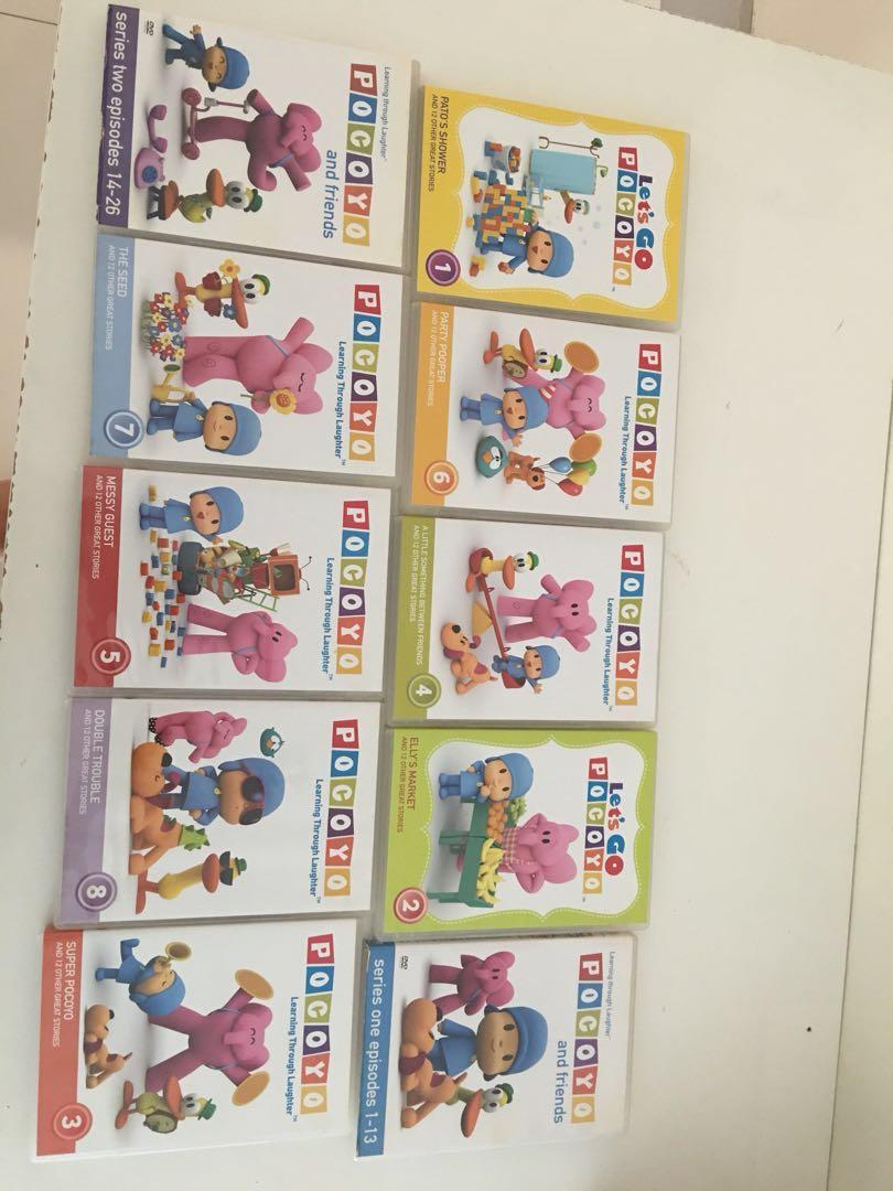 Pocoyo DVDs