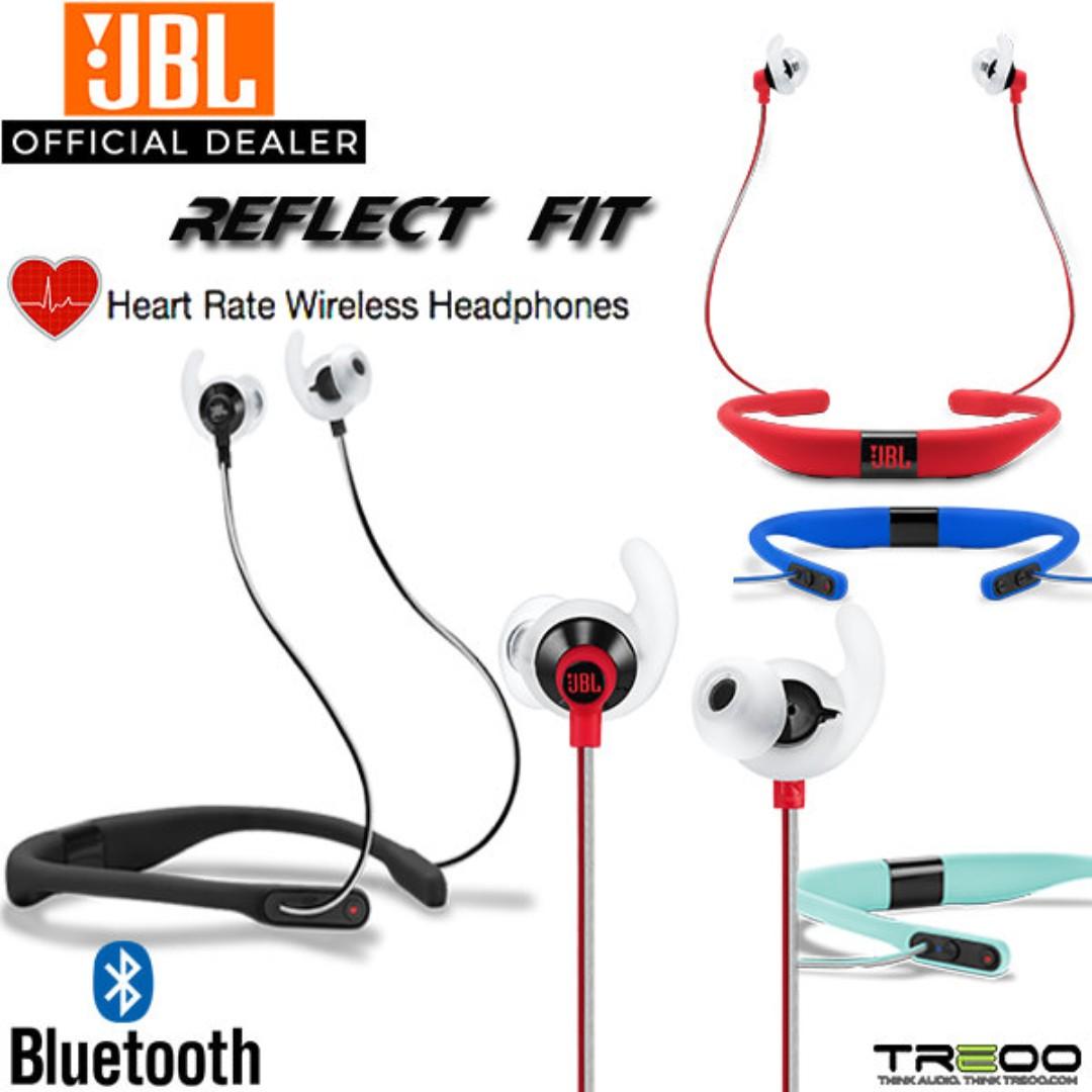 20a445ac0b5 PROMO] JBL Reflect Fit Wireless Bluetooth Neckband In-Ear Earphone ...