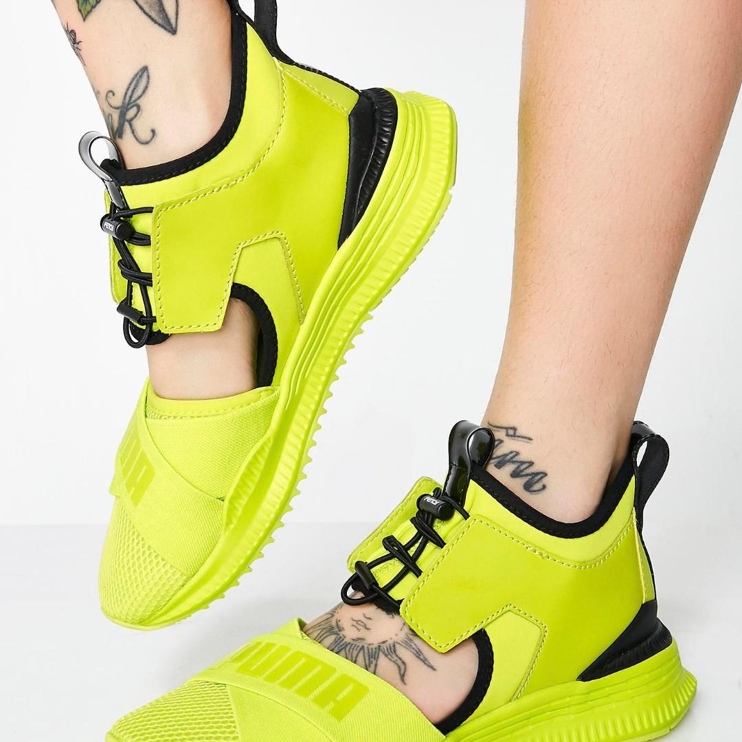 big sale 6399f 3f717 PUMA x Rihanna Fenty Avid Yellow, Women's Fashion, Shoes ...