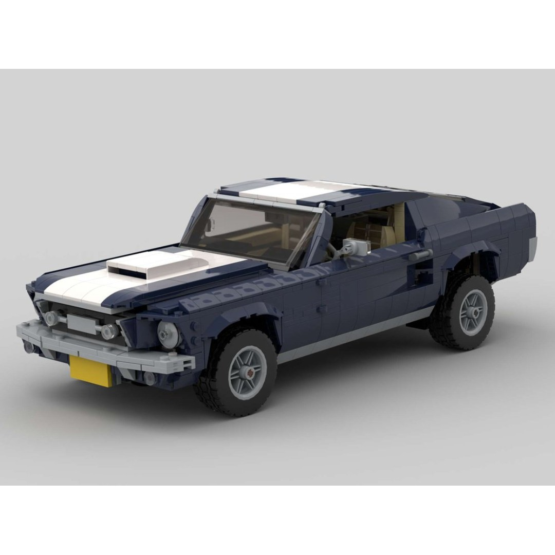 Rc pack for lego creator 10265 ford mustang rc ir version rc motorization mod remote control service