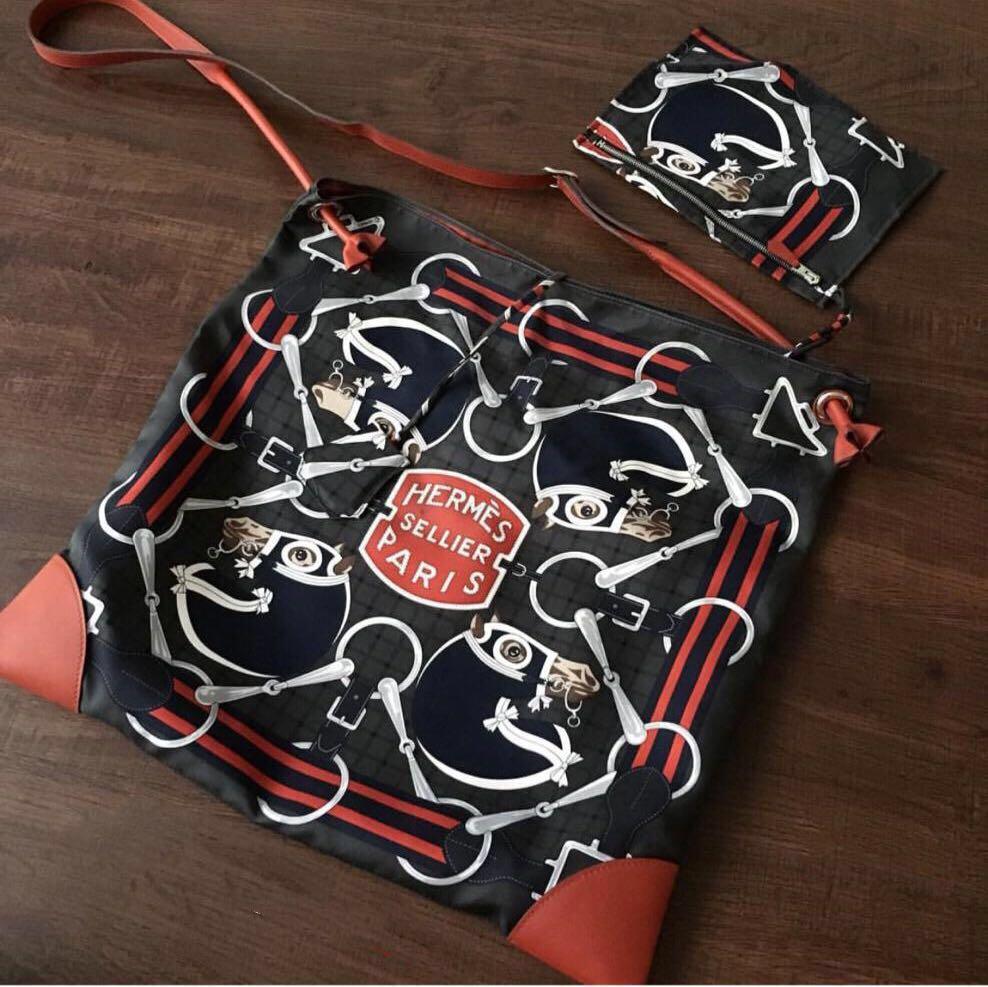 756143b95d Reduced: Hermès Silky City Bag 41 Tatersale, Women's Fashion, Bags ...