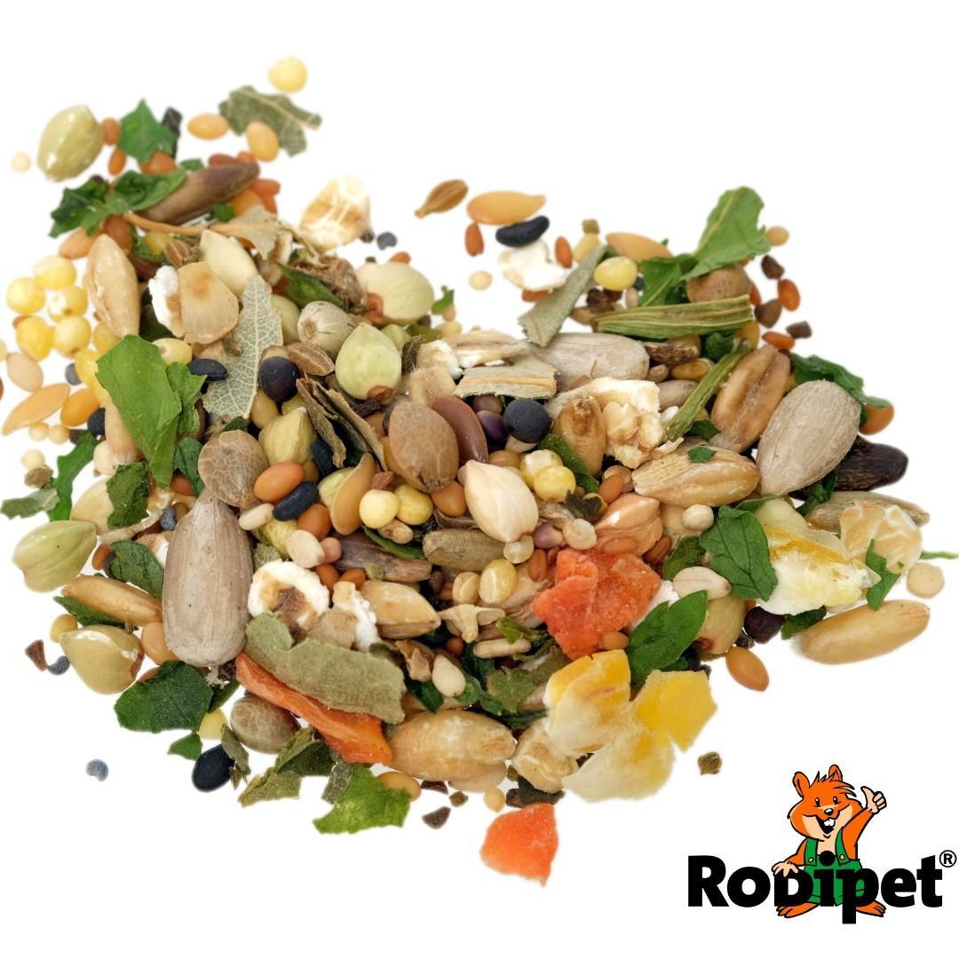 "Rodipet® Organic Dwarf Hamster Food ""SENiOR"" - 250g, Pet"