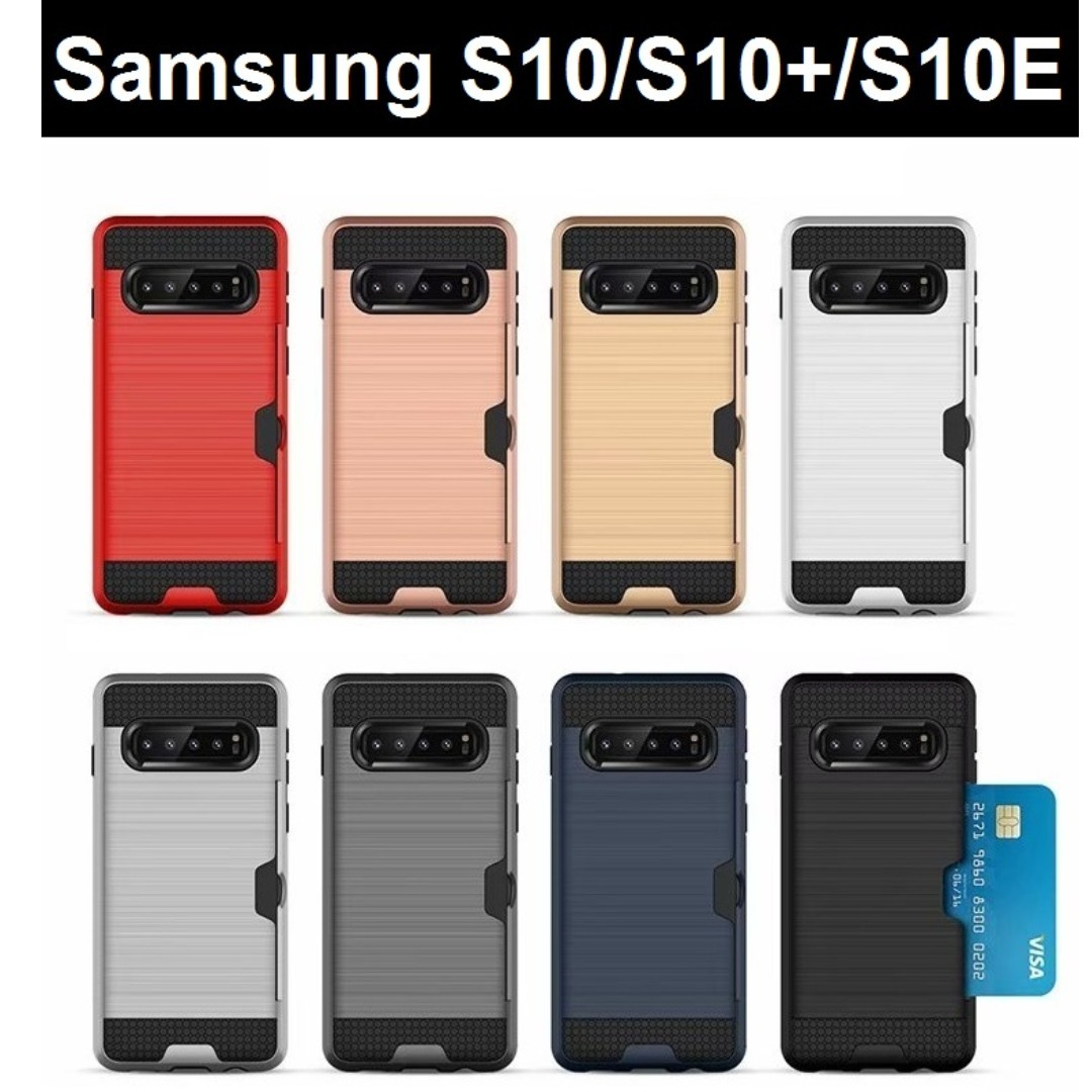 quality design 4d45f e057e Samsung Galaxy S10/S10+/S10E Damda Card Slot Case
