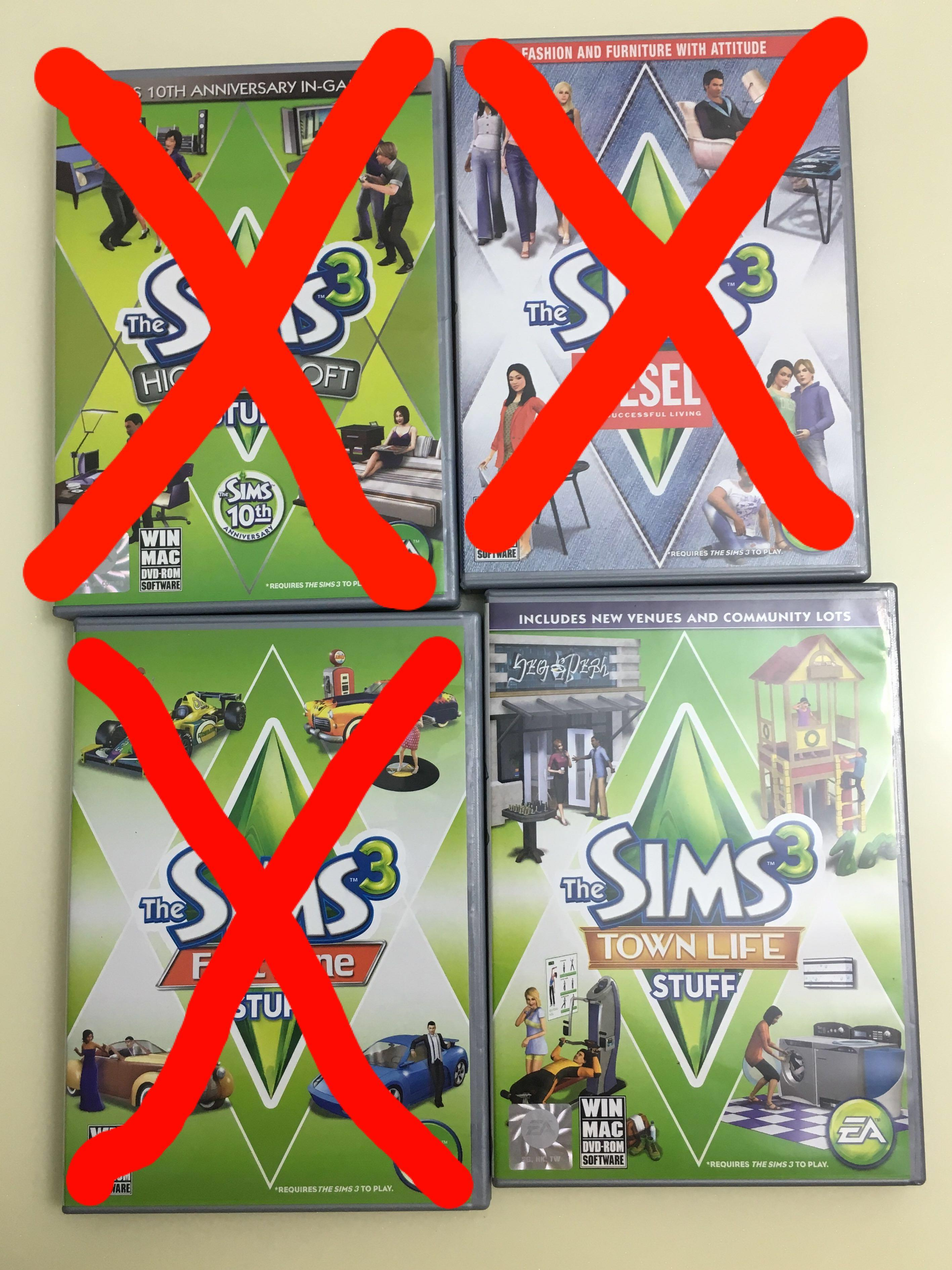 Sims 3 Stuff Pack, Toys & Games, Video Gaming, Video Games