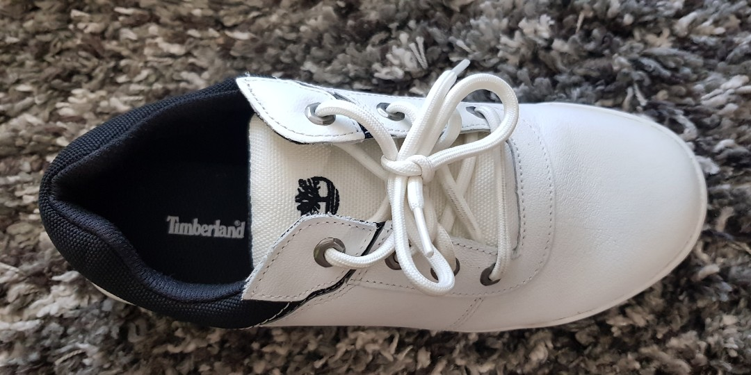 c8717018a083 Timberland sneakers shoe white   black us 9.5   uk 9   eur 43.5 ...