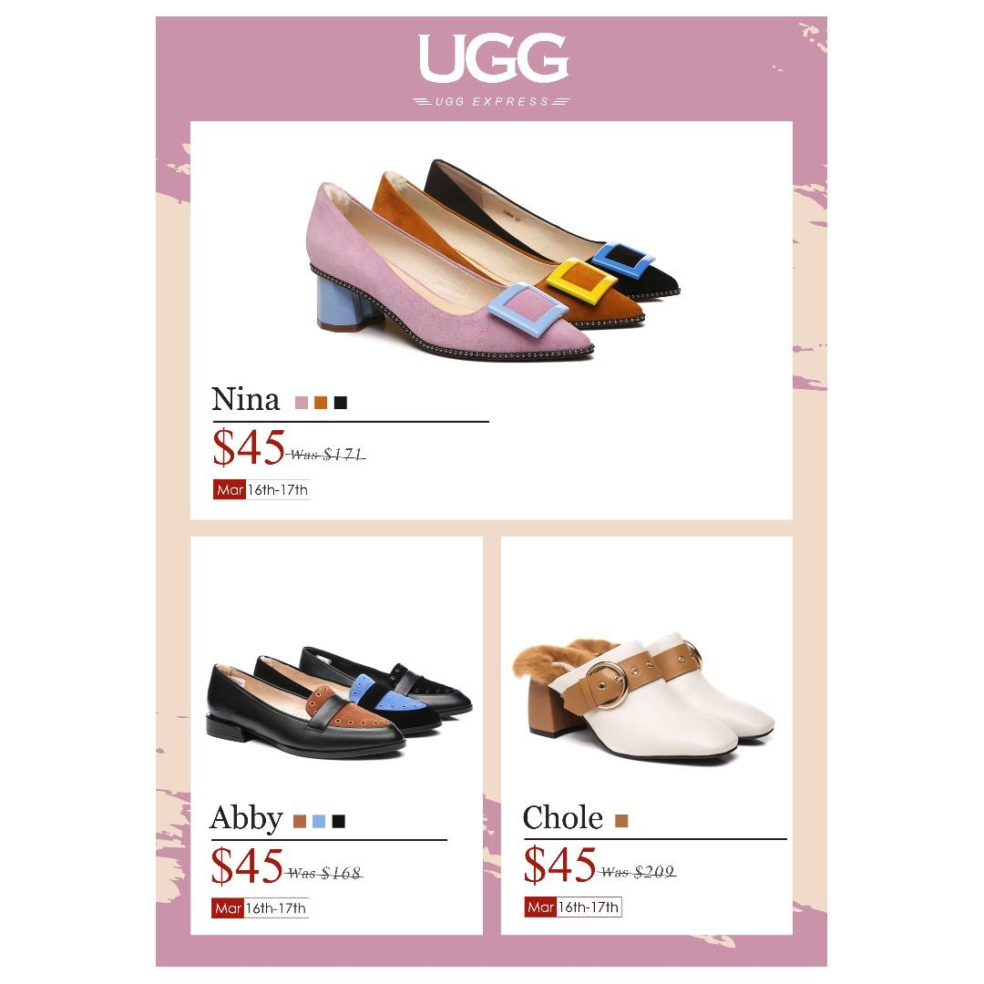 UGG EXPRESS WESTFIELD WARRINGAH MALL WEEKEND FLASH SALE 16TH-17TH MARCH. LIMITED TIME ONLY.
