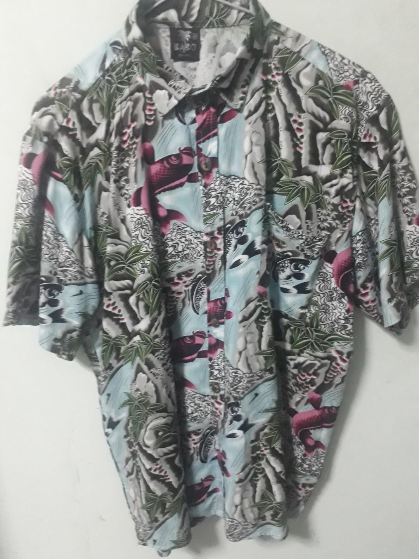 13e6306f Unisex Koi japan art hawaiian shirt, Men's Fashion, Clothes, Tops on ...