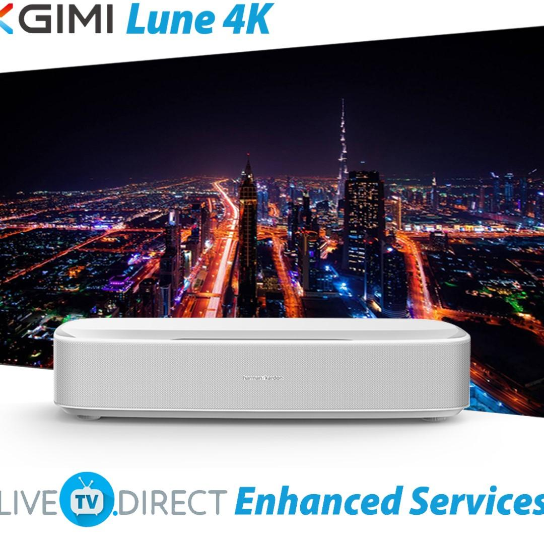 XGIMI Lune4K Enhanced Laser Super Short Focus Native 4K UHD