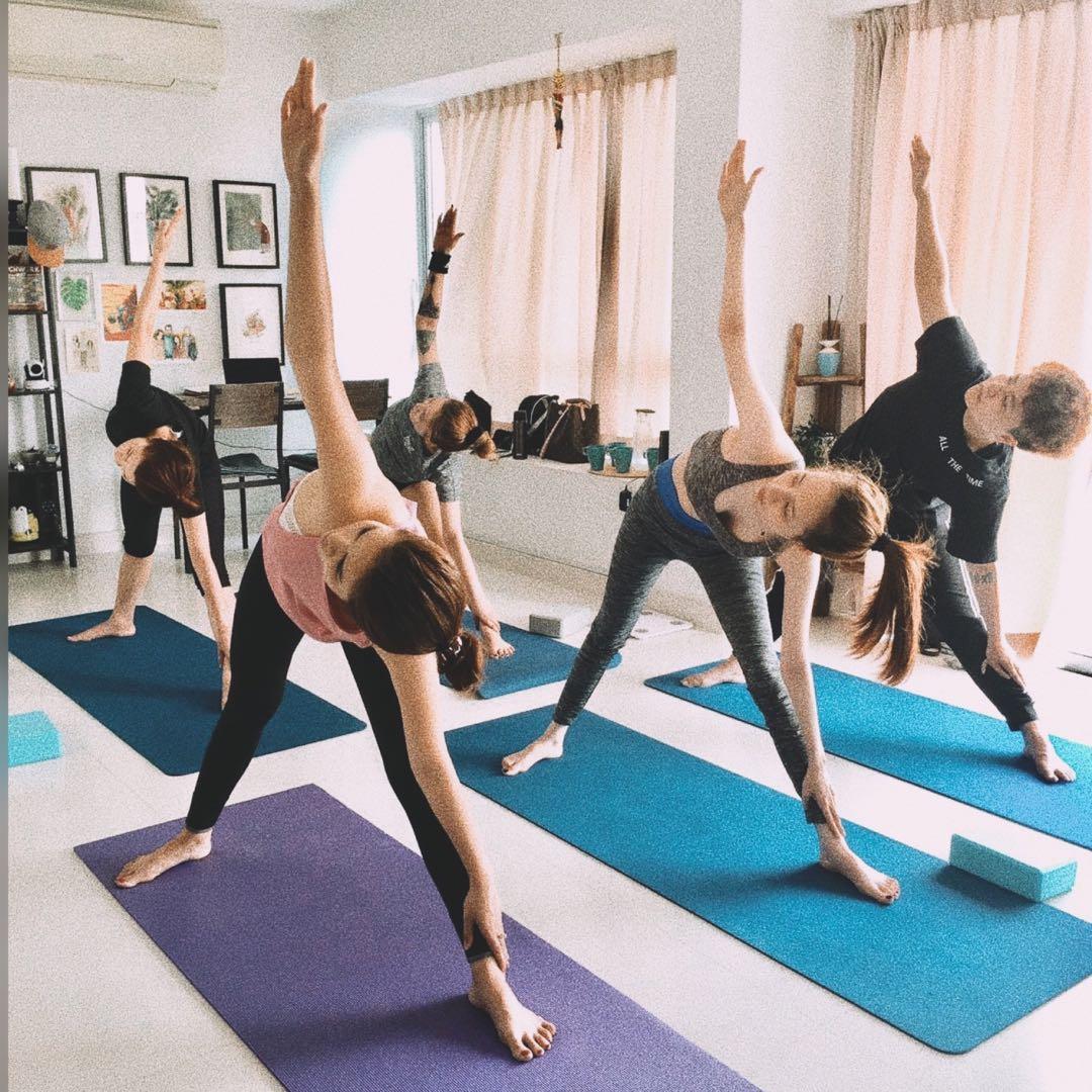Intermediate Yoga Classes Near Me - YogaWalls