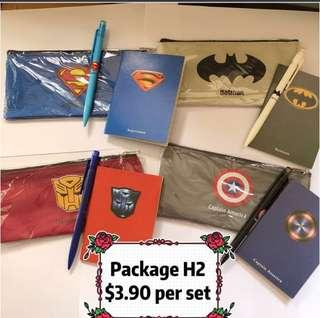 🚚 SUPERHERO THEME STATIONERY SET / GOODY BAG / GOODIE BAG / CHILDREN GIFT