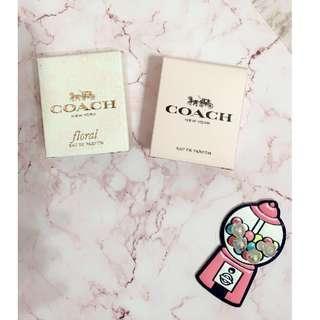 🚚 全新 COACH 小香 5ml  芙洛麗女性淡香精、時尚經典女性淡香精