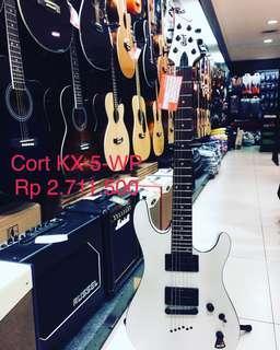 gitar elektrik cort kx5