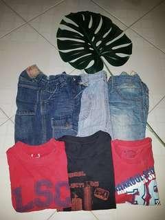 Preloved bundle boys clothings
