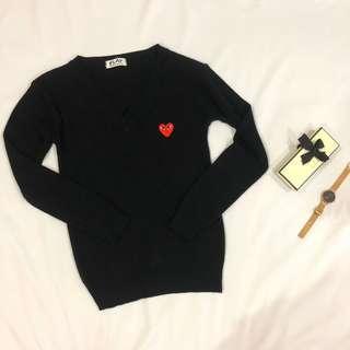CDG Inspired Sweater