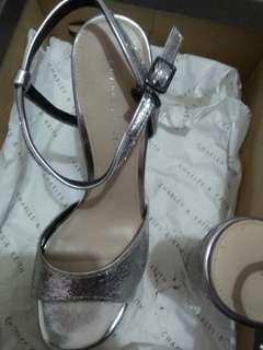 Heels Silver C&K