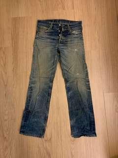 levis 501xx redline jeans 牛仔褲