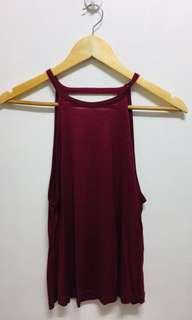 Bundle H&M backless top, Folded and hung shorts