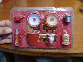 Miniature Retro Chinese Wedding item