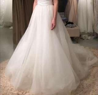 Wedding Gown dress bottom 婚紗 pier 94 tulle