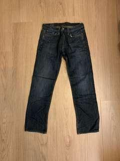 lucky brand Jeans made in USA 美國製 牛仔褲